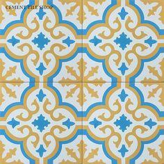 Cement Tile Shop - Encaustic Cement Tile Bordeaux II - lots of good options on this site Moroccan Tile Backsplash, Backsplash Tile, Berkeley Homes, Art Deco Bathroom, Bathroom Inspo, Old Stone Houses, Tiles For Sale, Encaustic Tile, Classic Collection