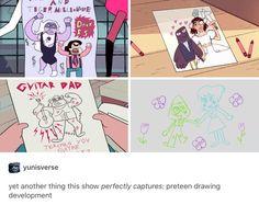 i love Steven's drawings