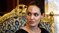 Angelina in Iraq, September 2012 - a meeting for the UNHCR.