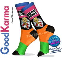 Good Karma Socks.
