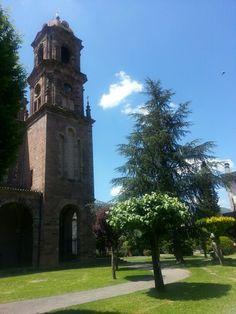 Elizondoko eliz-dorrea / Torre de la iglesia de Elizondo (Baztan) S. XX