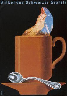 Swiss chocolate Swiss Chocolate, Cocoa Chocolate, Coffee Poster, Coffee Art, Vintage Advertisements, Vintage Ads, Vintage Ski Posters, Swiss Miss, Zermatt