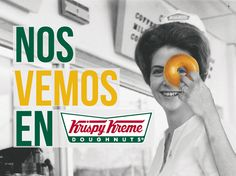 ¡Hoy es día de consentirse y qué mejor lugar para hacerlo que Krispy Kreme Mexico! ¿Quién no se muere por una?