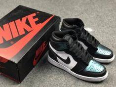 3a38c64738f2f2 Nike AIR JORDAN 1 RETRO HIGH OG GOTTA SHINE 907959-015 Womens Basketball  Shoes Jordan