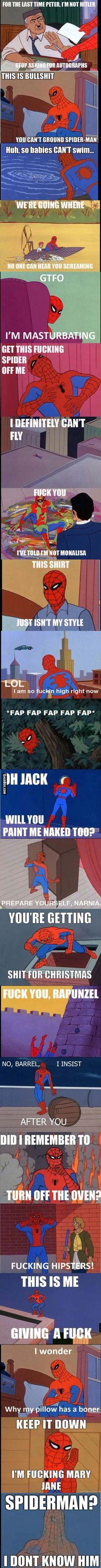 Ooohhh Spidey...