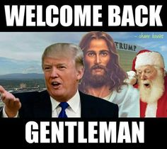 Trump.....because it is okay to say God and Merry Christmas again!