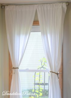 Redhead Can Decorate Ruffled Kitchen Curtain Separate