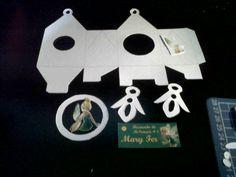 Las cajitas de Douce, son elaboradas manualmente y cada pieza recortada por separado