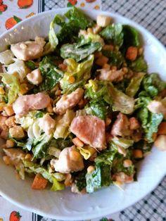 H μάνα του ... λόχου: Σαλάτα του Καίσαρα (Caesar salad) The Kitchen Food Network, Caesar Salad, Greek Recipes, Food Network Recipes, Potato Salad, Salads, Potatoes, Ethnic Recipes, Potato