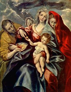 Holy Family - El Greco