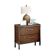 Chaparral 2 Drawer Nightstand