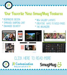 #Photography #Tips #SmugMug #Customization #Training #Webdesign  read more at http://www.jrcustomization.com