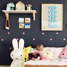 Habitación infantil moderna con topos #habitacion #habitaciones #infantil #infantiles #bebe #ideas #decoracion #pared #vinilo #vinilos #decorativos #vinilosdecorativos #habitacioninfantil #habitacionesinfantiles #habitacionbebe #habitacionesbebe #vinilosdecorativos #vinilosinfantiles #decoracioninfantil #decoracionbebe #niño #niños #niña #niñas #topos #moderna #diferente #molonas