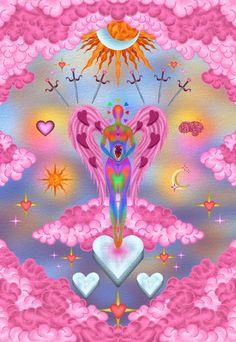 Hippie Wallpaper, Trippy Wallpaper, Photo Wall Collage, Collage Art, Sensory Art, Aura Colors, Illustration Art, Illustrations, Hippie Art