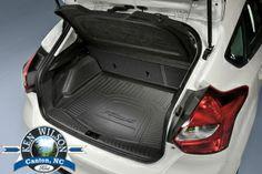 Oem Factory Stock Ford   Focus  Door Hatchback Without Subwoofer Rear Back Cargo Liner Weather Floor Mat Black