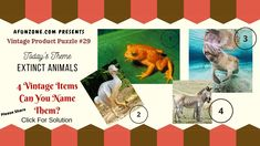 Can you guess today's classic vintage product puzzle? Extinct Animals, Classic Tv, Vintage Items, The Past, Puzzle, Retro, Antiques, Household Products, Bathroom