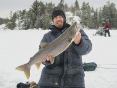 Ice fishing Muskie Bay Resort