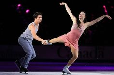 SAINT JOHN, NB - OCTOBER 27: Tessa Virtue and Scott Moir of Canada skate during the gala exhibition on day three at the ISU GP 2013 Skate Ca...