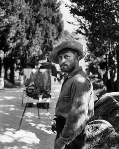 Kirk Douglas won Best Actor in a Motion Picture — Drama in 1957 for Lust for Life. He is pictured here in the Vincente Minelli directed film in character as Vincent Van Gogh. (Frank Scherschel—The LIFE Picture Collection/Getty Images) #LIFElegends...