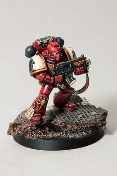 Blood raven space marine