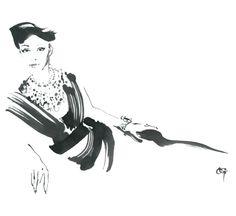 BLOG // SHANNON BELLANCA DESIGN: fashion illustration at it's best // antonio...