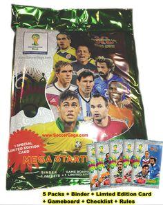 SoccerGaga.com - 2014 Panini World Cup Soccer Cards - Starter Binder, $28.99 (http://www.soccergaga.com/2014-panini-world-cup-soccer-cards-starter-binder/)