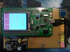 Initialization of ILI9341 TFT LCD screen with STMPE811 resistive touch screen controller... Learn how to setup project using STM32F4Cube with example code...