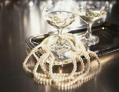 Champagne and Pearls #RealistFashion Women's Jewelry - http://amzn.to/2j8unq8