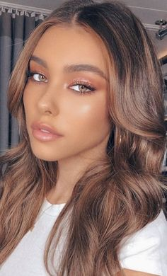 Image about beauty in Madison Beer by berber on We Heart It Madison Beer Makeup, Madison Beer Hair, Make Up Looks, Madison Bier, Maquillage On Fleek, Natural Glam Makeup, Formal Makeup, Brown Blonde Hair, Blonde Honey