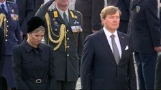 Queen Maxima and King Willem Alexander at National Remembrance ceremony