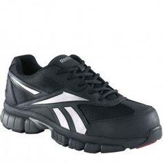 5deaf467fd0 Reebok Work Men s Ketia Black Silver Size 10 W