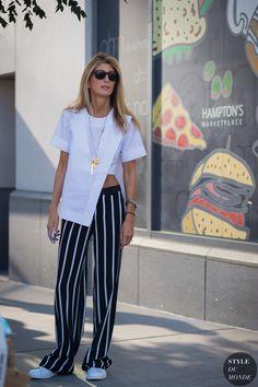 New York Fashion Week SS 2016 Street Style: Sarah Rutson - STYLE DU MONDE | Street Style Street Fashion Photos