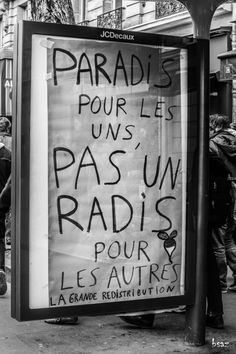 It's Friday it's Brothel # 384 After The Pub Street Art Quotes, French Quotes, Urban Art, Peace And Love, Sentences, Slogan, Decir No, Just In Case, Photo Art