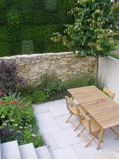 small modern garden design / repinned on toby designs