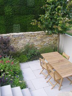 small modern garden design / repinned on toby designs