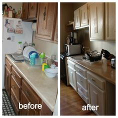 Easiest Way To Paint Cabinets! Total Time Spent: 15 Hrs 1. Remove Doors