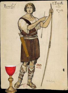 Parsifal de Wagner ou la plus belle entrée dans le domaine public qui soit - romainelubrique.org Medieval, Domaine Public, Plus Belle, Knights, Opera, Illustration Art, Ring, Music, Celebrity