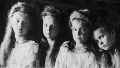 the last romanovs- the four beautiful sisters, so tragic.