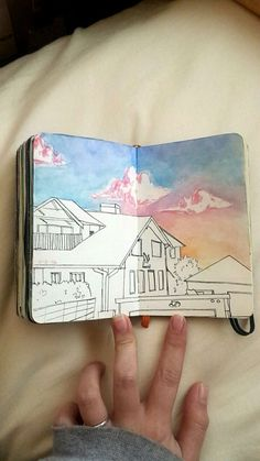 Beautiful Sketchbooks // haha don't think that will ever happen in BUJO but lol still pinning it cause its pretty