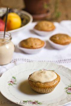 Cupcakes con banana e yogurt
