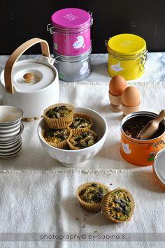 Due bionde in cucina: Muffin agli spinaci e carote con Lov Organic
