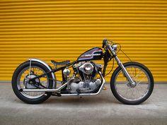 Bobber Inspiration   Harley-Davidson Ironhead bobber   Bobbers and Custom Motorcycles