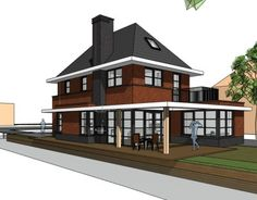 Nieuw ontwerp voor een jaren 30 woning. Binnenkort meer info!