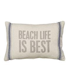 'Beach Life' Throw Pillow