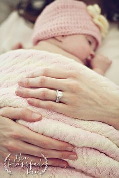 Newborn Photography | Wedding Ring | The Blissful Bee