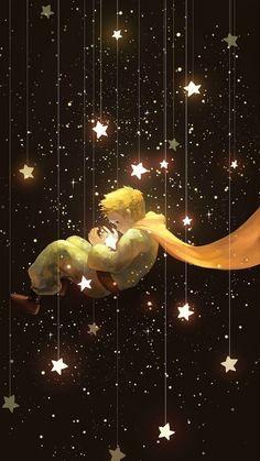 El Principito Aka the little Prince Le Petit Prince Film, The Little Prince, Stars And Moon, Cute Wallpapers, Wallpaper Wallpapers, Wallpaper Quotes, Art Inspo, Fantasy Art, Iphone Wallpaper