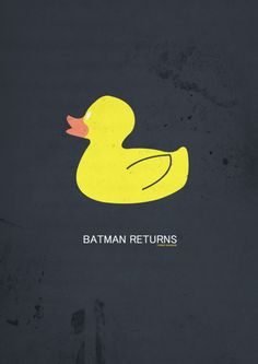 Batman Returns [Tim Burton, «A Serie of Minimalist Movie Posters Author: Yannis Naamane Minimal Movie Posters, Minimal Poster, Film Posters, Batman Returns Penguin, Love Film, Alternative Movie Posters, Life Words, Superhero Movies, Album Book