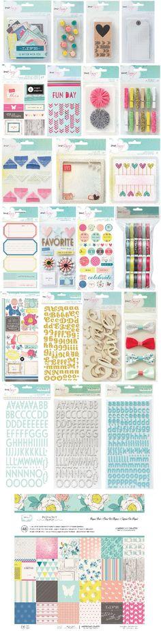American Crafts: Dear Lizzy Polka Dot Party - Sneak Peek News - Scrappypedia.com