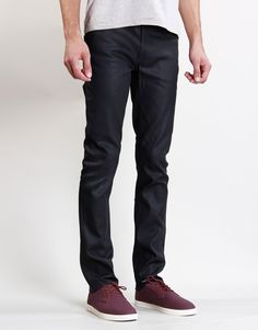 Just brought my First Nudies, Thin Finn Dry Black Coated Jeans.