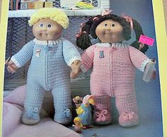 CABBAGE PATCH DOLL PATTERN | FREE PATTERNS